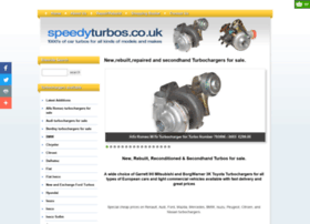 speedyturbos.co.uk
