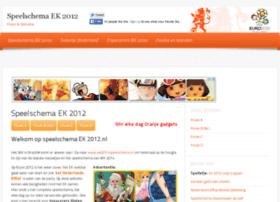 speelschemaek2012.nl