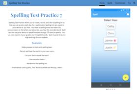 spellingtestpractice.com