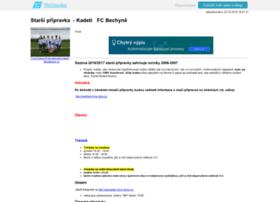 spfcbechyne.wbs.cz
