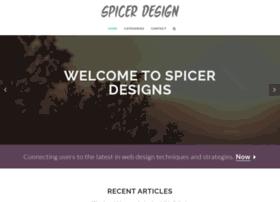 spicerdesigns.com