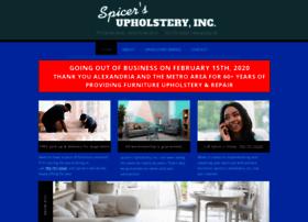 spicersupholsteryshop.com