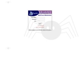 spideradmin.mathxl.com