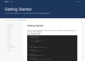 spiderlang.org