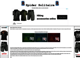 Spidersolitaire.org