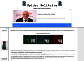 spidersolitaire.org
