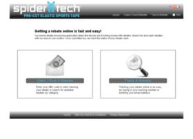 spidertech.4myrebate.com