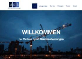 spiess-baudienstleistungen.de