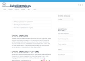 spinalstenosis.org