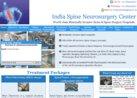 spineneurosurgeryindia.com
