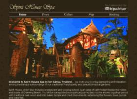 spirithousespa.com
