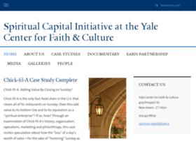 spiritualcapital.yale.edu