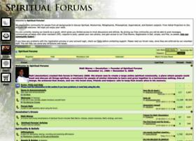 spiritualforums.com