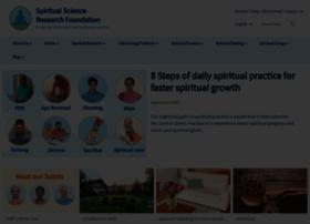 spiritualresearchfoundation.org