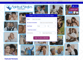 dating for spiritual singles uk Conscious dating network (cdn) is the oldest, largest, exclusively spiritual/conscious and green/eco-friendly network of online dating sites with almost 20 years experience many of our sites are marketed by us, cdn, and by allowing third parties to market privately labeled sites it leverages our marketing efforts and attracts more conscious singles for our members.