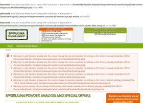 spirulinapowdermarket.com