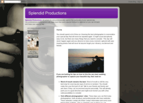 Splendid-productions.blogspot.com