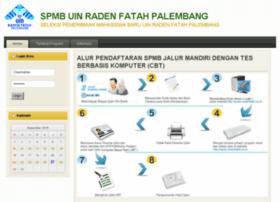 spmb.radenfatah.ac.id