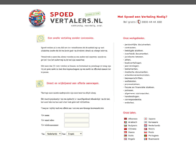 spoedvertalers.nl