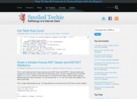 spoiledtechie.com