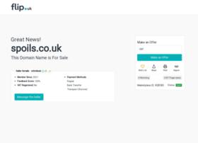 spoils.co.uk