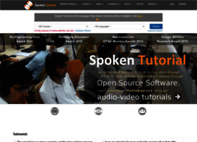 spoken-tutorial.org