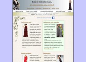 spolocenske-saty-online.sk