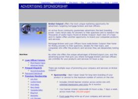 sponsor.brokeroutpost.com