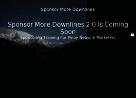 sponsormoredownlines.com