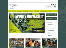 sport.exeter.ac.uk