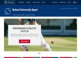 sport.ox.ac.uk