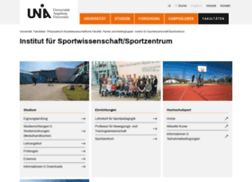 sport.uni-augsburg.de