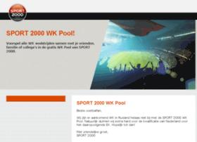 sport2000wk-poule.nl