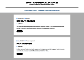 sportandmedicalsciences.org