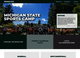sportcamps.msu.edu