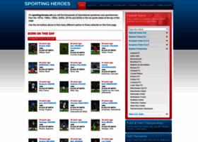 sporting-heroes.net