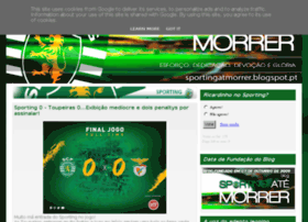 sportingatmorrer.blogspot.pt