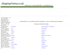 sports-equipment.shoppingvariety.co.uk