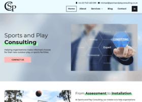 sportsandplayconsulting.co.uk