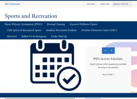 sportsandrecreation.yale.edu