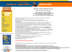 sportsarbitrageinvestor.com