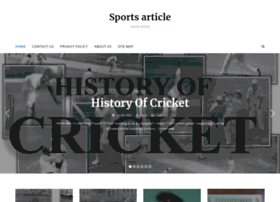 sportsarticlelibrary.com