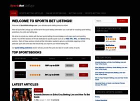 sportsbetlistings.com