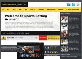 sportsbettingacumen.com
