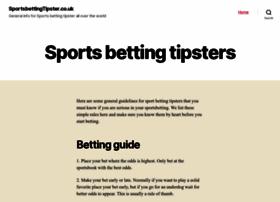 sportsbettingtipster.co.uk