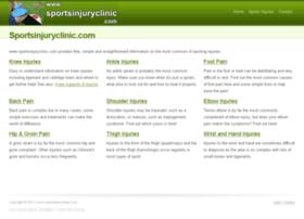 sportsinjuryclinic.com