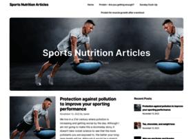 sportsnutritionarticles.com