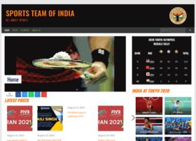 sportsteamofindia.com
