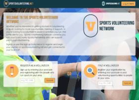 sportsvolunteering.net