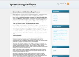 sportwettengrundlagen.de